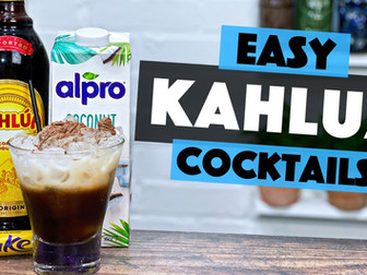 Kahlua Cocktail with Coconut - AWESOME Coffee Cocktail Recipe