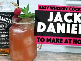 Jack Daniels Mixed Drinks | a Raspberry Lynchburg Lemonade Cocktail Twist