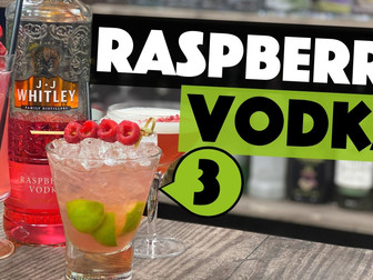 3 EASY Raspberry Vodka Drinks you can make at Home