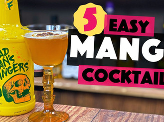 5 Easy MANGO Cocktail to make at home