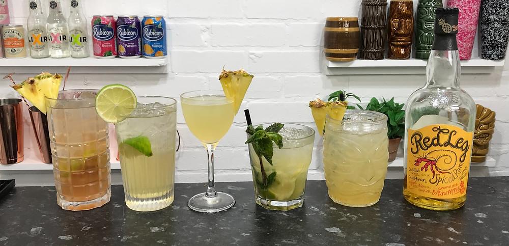 RedLeg Caramelised Pineapple Rum Cocktails