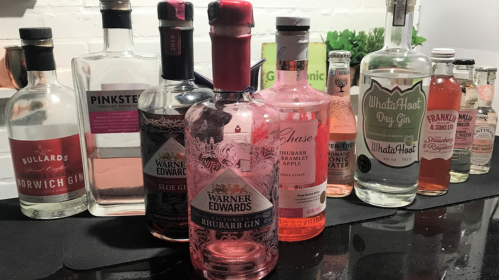 Pink Gin Examples