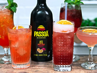 5 Easy Cocktails with Passoa - Passion Fruit Cocktail Recipe