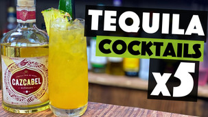 5 EASY Tequila Cocktails to make at Home