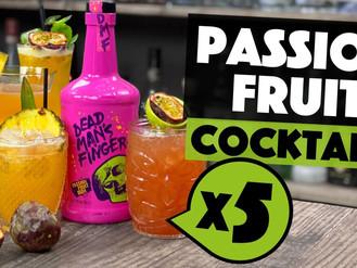 5 EASY Dead Mans Fingers PASSION FRUIT Rum Cocktails