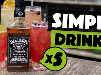 5 EASY Jack Daniels Cocktails   recreating Country Cocktails
