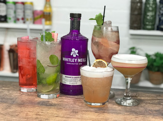 5 Easy Gin Cocktails ft Whitley Neill Rhubarb Gin