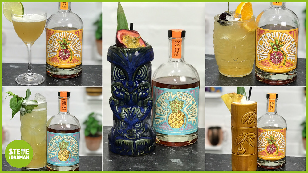 5x AMAZING Cocktails you can make with Pineapple Grenade and Grapefruit Grenade Spiced Rum