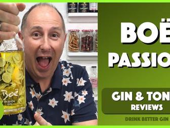 Boë Passion Fruit Gin Review