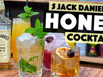 5 Easy Jack Daniels Honey Whiskey Cocktails to make at home