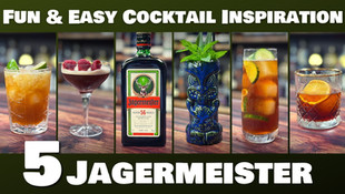 5 EASY Cocktails with Jagermeister