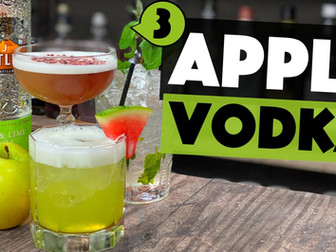 3 Easy Apple Vodka Cocktail Recipes you can make at Home