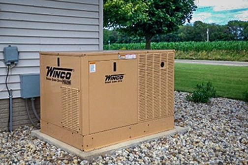 winco liquid cooled generator