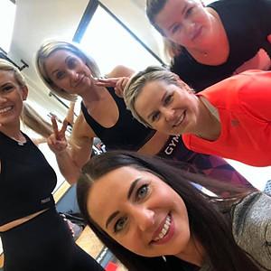 April #Powergirls training