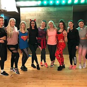 October #Powergirls training