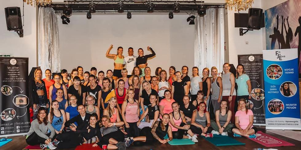 FitJoEva - Listopadowy HALLOWEENOWY Trening z #Powergirls