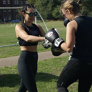 August #Powergirls training