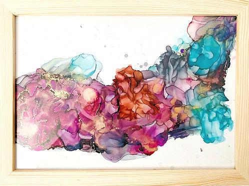 Colorfull Wave Garden A4