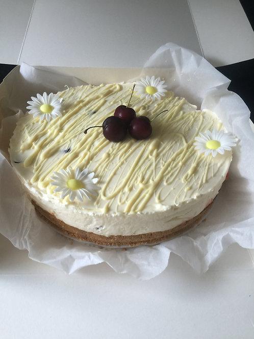 Cherry Bake well cheesecake
