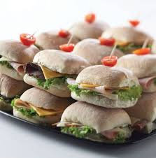 Bread Roll Platter 27 pieces