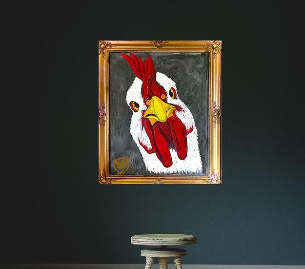 Susanne Mohr - Stirrende Høne