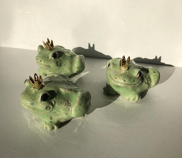 Aaen & Nielsen - Royal Frogs Small light green