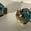 Thumbnail: Aaen & Nielsen - Royal Frogs Small turquoise