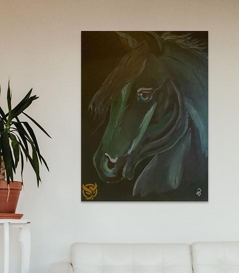 Birgit Jakobsen - Green Horse