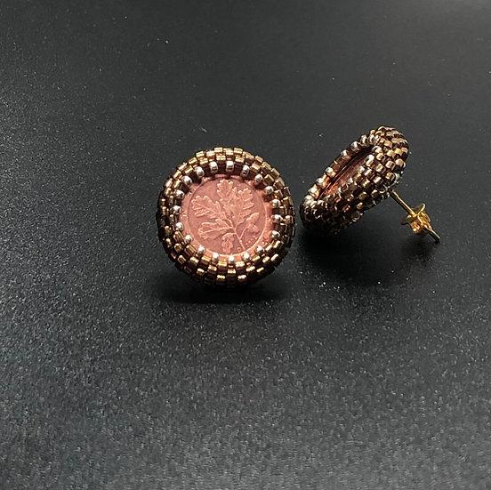 Julia Vlasova - Coin Earrings
