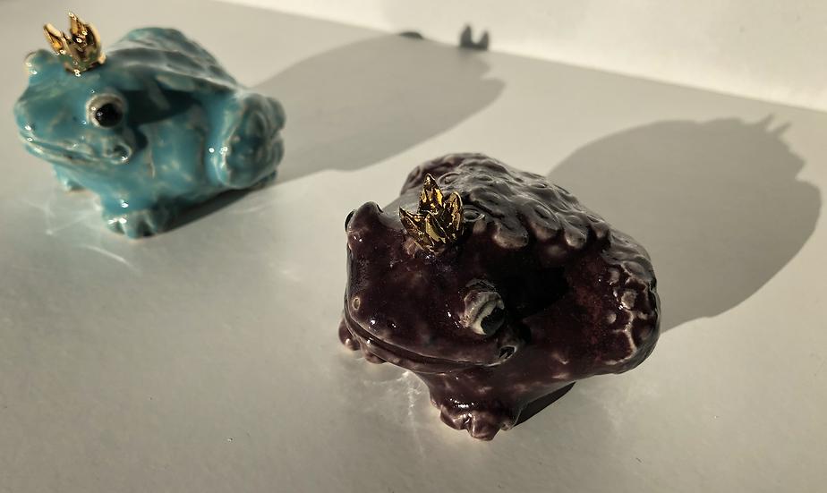 Aaen & Nielsen - Royal Frogs Small purple