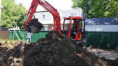 excavation rive sud