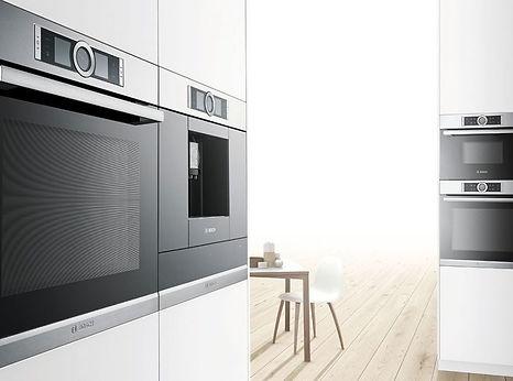 refridgerator, range, microwave, cooktop, hood