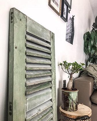 Persienne patine vert-de-gris