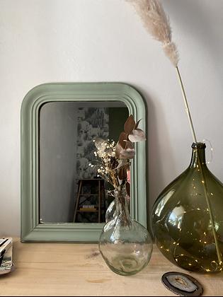 Miroir vert-de-gris