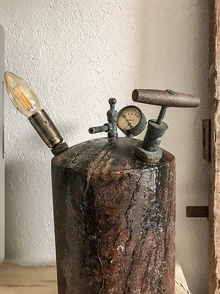 Lampe à poser ancienne sulfateuse