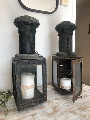 Anciennes lanternes Cheminots 1928