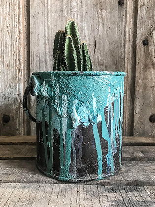 Seau de peintre (turquoise)