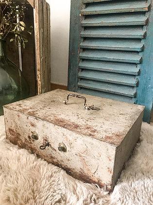 Ancienne caisse «coffre fort»