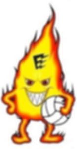 Logo Fiamma Energy Volley solo fiamma BI