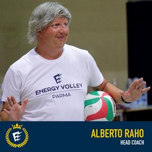 Alberto Raho - Head Coach Serie B WiMORE Energy Volley Parma