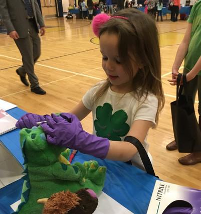 Kiski Upper Elementary Career fair
