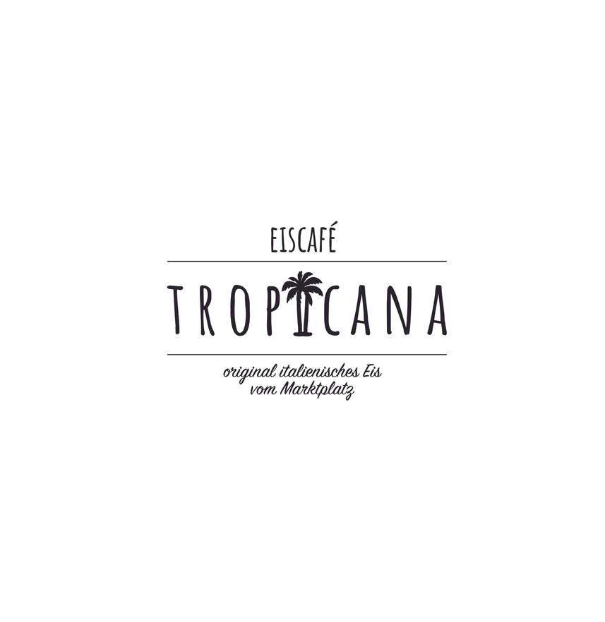 Logo Eiscafé Tropicana
