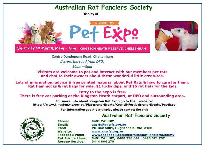 Kingston Pet Expo 2019 - Public notice.j
