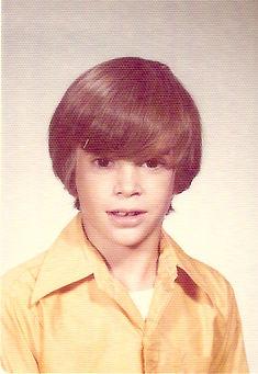 Allan Woodrow in third grade