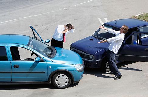 hádka řidičů dopravní nehoda