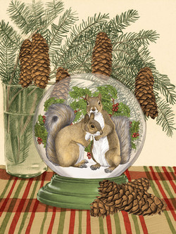Squirrels Globe