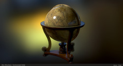 Props_Terrestrial Globe01