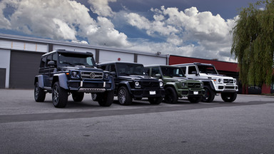 MERCEDES G WAGON GROUP