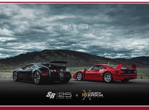 25 Year Celebrating At Luxury Supercar Weekend