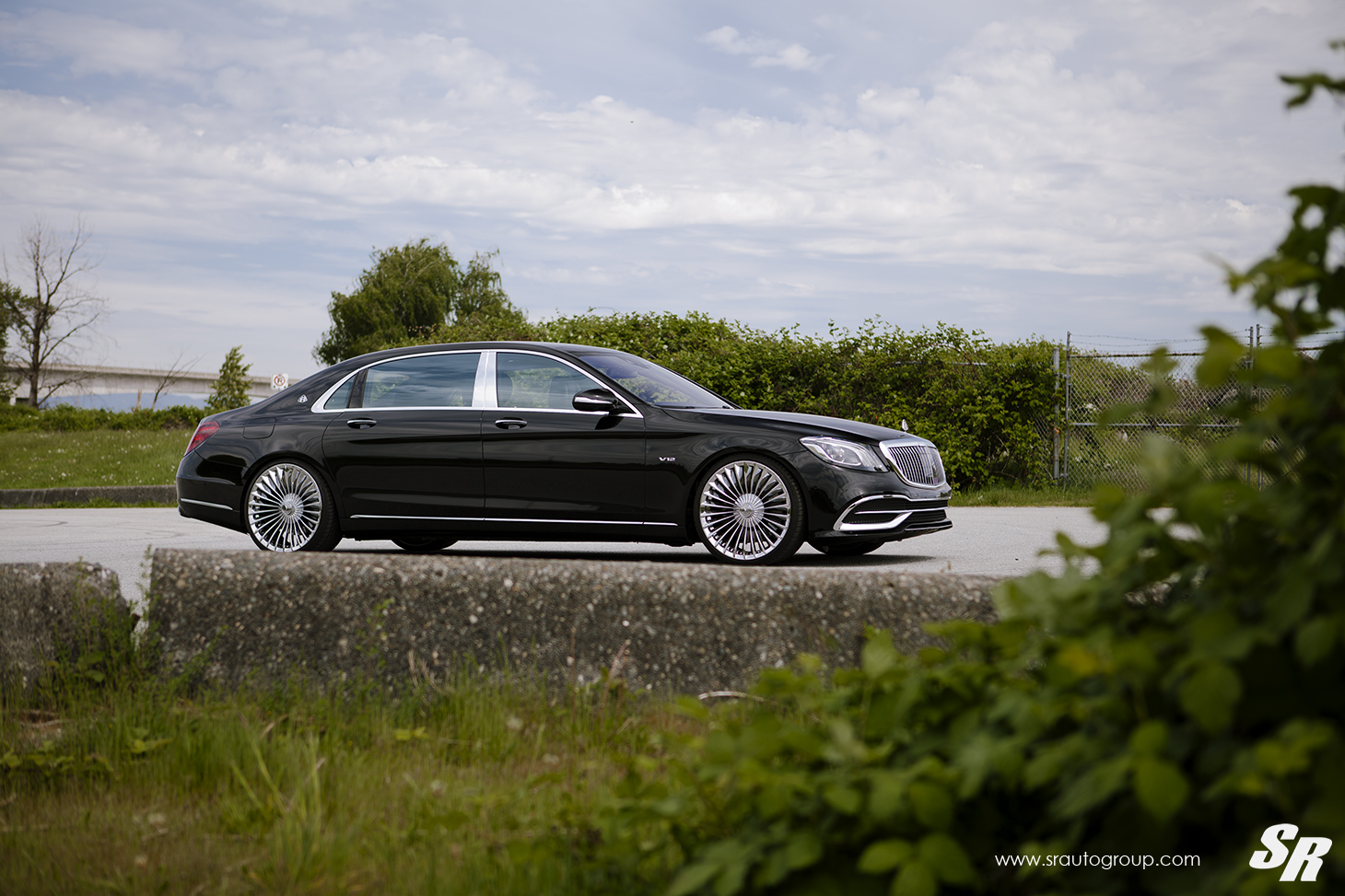 MERCEDES BENZ S600 MAYBACH PUR FL25